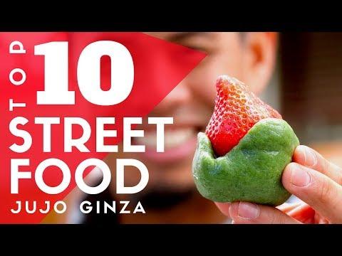 Top 10 Tokyo Street Food at Jujo Ginza | Local Japanese Eats