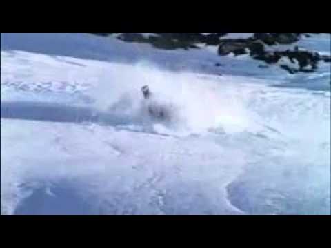 Henri oreiller Vs  Marielle Thompson Zermatt Switzerland snowboarding