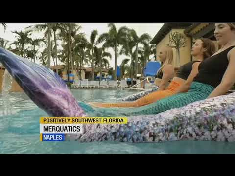 Workout like a mermaid in Naples