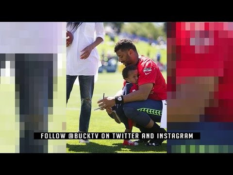 Russell Wilson Fires Back At Atlanta Falcons & Future Trains Baby Future To Be Just Like Him For NFL
