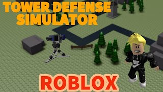 PLAYING ROBLOX TOWER DEFENSE SIMULATOR?! ~ THERES AN UPDATE?!!!