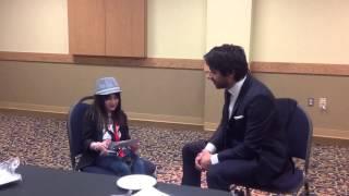 Hannah Alper interviews CBC's Q host Jian Ghomeshi