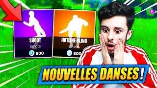 """Les NOUVELLES DANSES """"SECRÈTES CACHÉES"""" M'ONT CHOQUÉ sur FORTNITE: Battle Royale !! (SECRET)"""