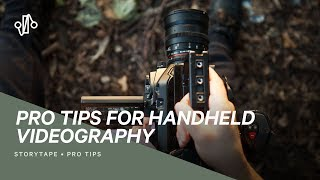 SMOOTH HANDHELD VIDEO - 5 Handheld Camera Tips To Eliminate Shaky Footage Forever