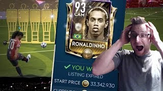We Got Icon Ronaldinho! The Most Expensive Players in FIFA Mobile 19 - 39 Million Coins
