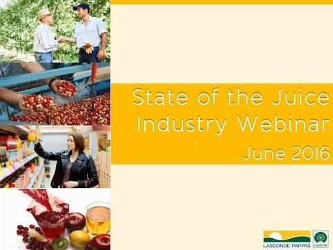 Lassonde Pappas | State of the Juice Industry Webinar, June 2016