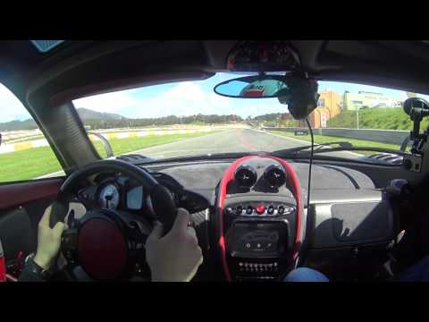 Pagani Huayra BC | Hot lap with Andrea Palma