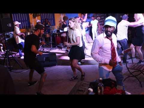 Salsa w Trinidad, Kuba 2017.
