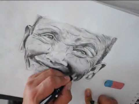 Realistic pencil art how to draw a beautiful face