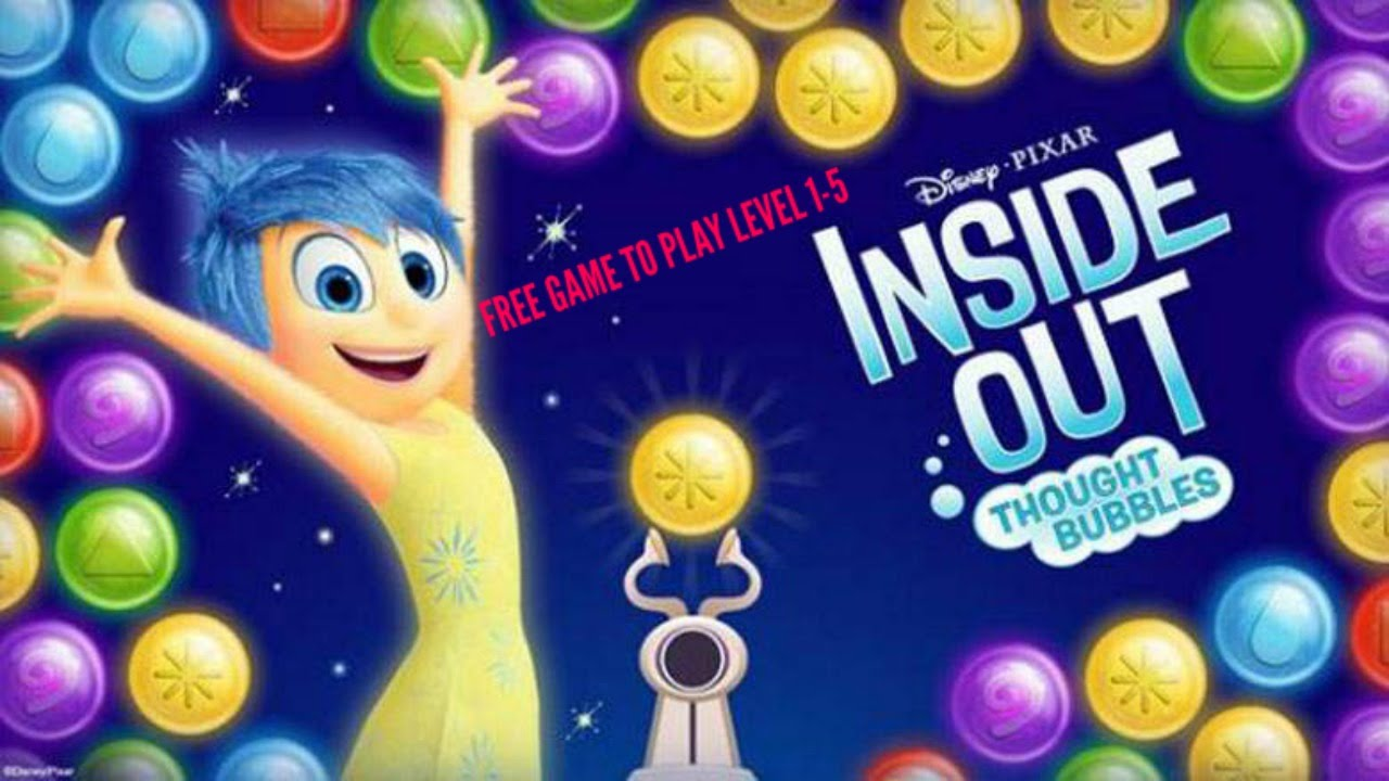 Inside Out Thought Bubbles Gameplay Level 1 5 Free Game To Play On Pc Ios Android Youtube