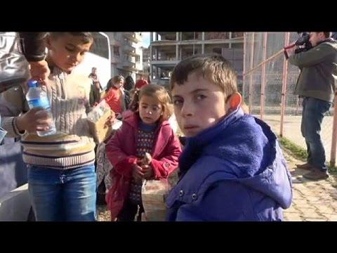 Turkish disaster agency warns thousands of Turkmens fleeing Syria