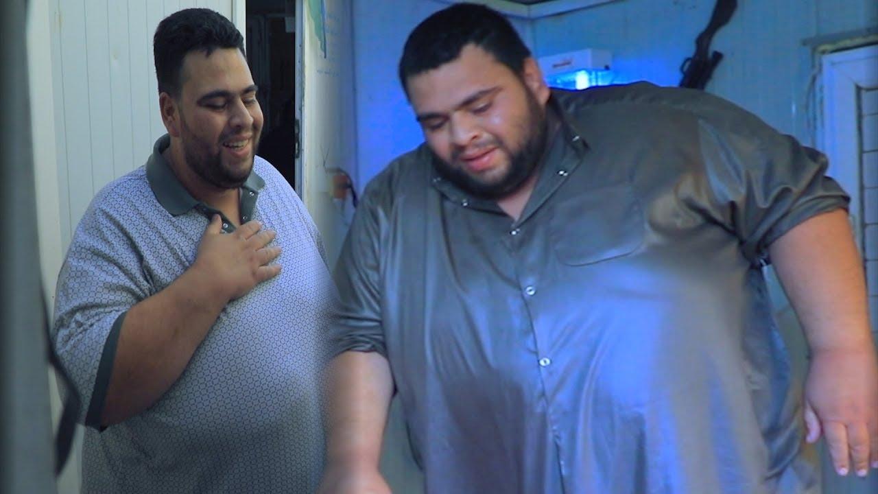 حلقة الكاملة/اسمن رجل في العراق يبلغ 300 كيلو ويعاني من فقر شديد #علي_عذاب_من_الواقع