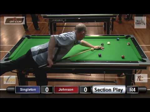 2015 Cnz national 8 ball section play r4  S Singleton v P Johnson