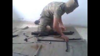 Türk Askeri Göz Kapalı MG3 Söküp Takma 1.19 Saniye Silah Nasıl Sökülüp Takılır