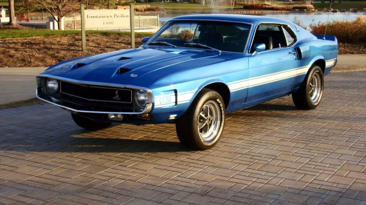 1969 & 1970 Shelby GT350's - YouTube