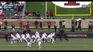 Coca Cola Highlights of the WVU - Texas Tech Game, 10-11-14