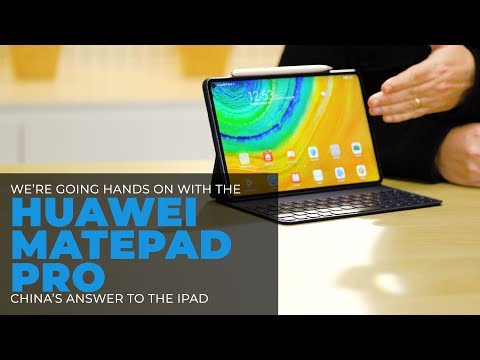 Hands On With The (Canadian) Huawei MatePad Pro