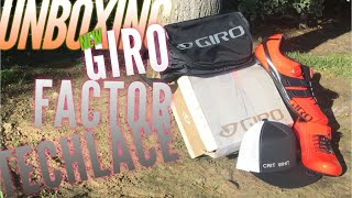 Crit Whit Series: July 2, 2018 GIRO FACTOR TECHLACE UNBOXING!!!