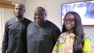 Ovation Media Group Visits Founder, Latter Rain Assembly, Pastor Tunde Bakare