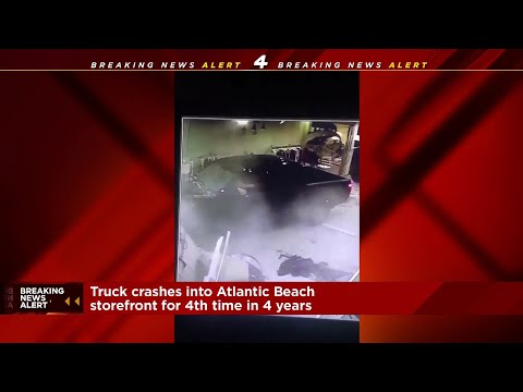 Catalina - NOT AGAIN: Atlantic Beach Boutique Hit by Car Fourth Time in Four Years