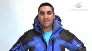 Куртка пуховик мужская синего, болотного цвета 9683