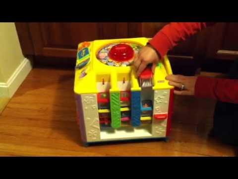 Fisher Price Incrediblock in action - YouTube