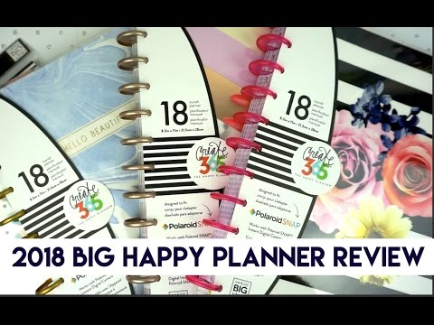 2018 NEW Big Happy Planner