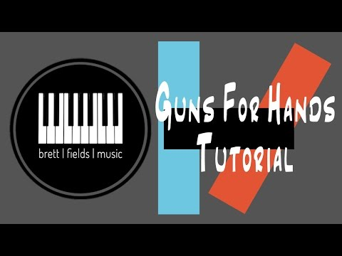 Guns For Hands Piano Tutorial - Twenty|One|Pilots