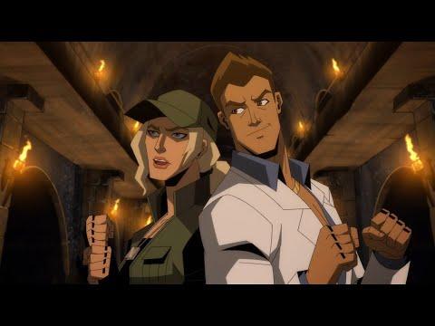 Mortal Kombat Legends Scorpions Revenge : Johnny & Sonya VS Kano