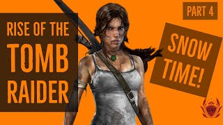 RISE OF THE TOMB RAIDER! LETS PLAY WALKTHROUGH! PART 4! PS4 PRO!