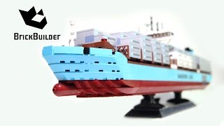 Lego Creator 10241 Maersk Line Triple-E - Lego Speed Build