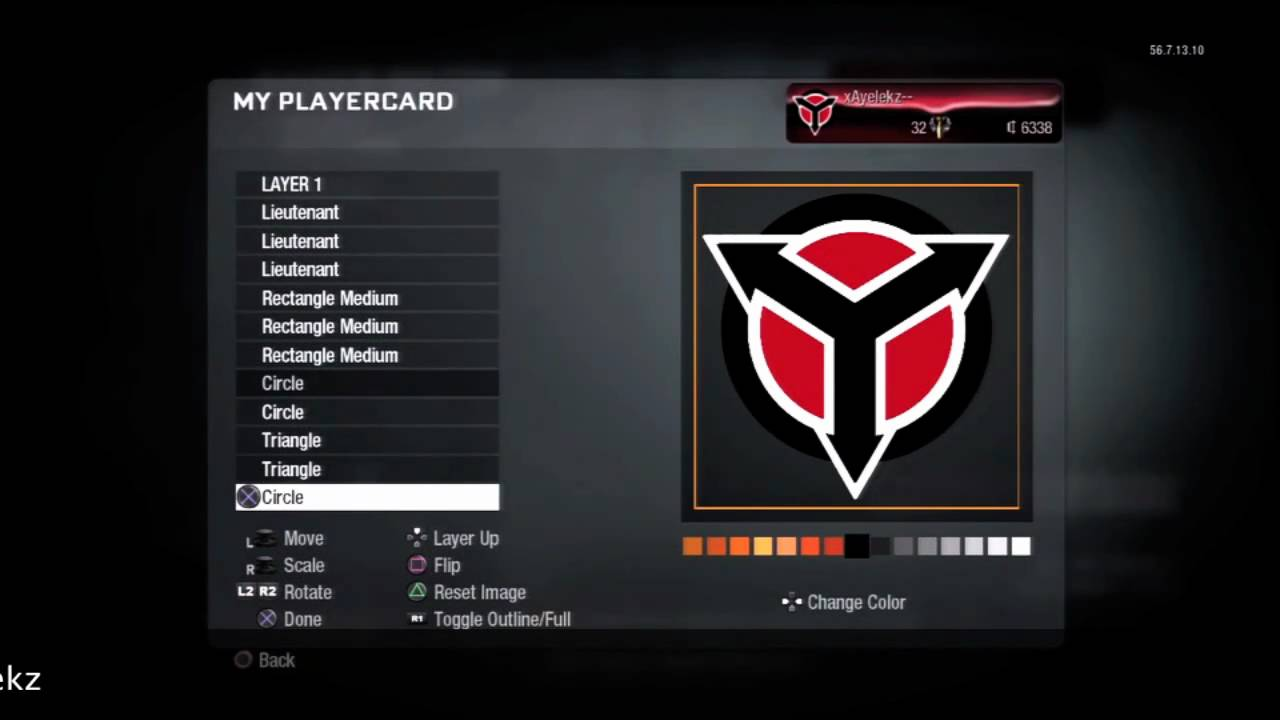 Call Of Duty Black Ops Emblem Tutorial 42 Killzone Helghast Logo