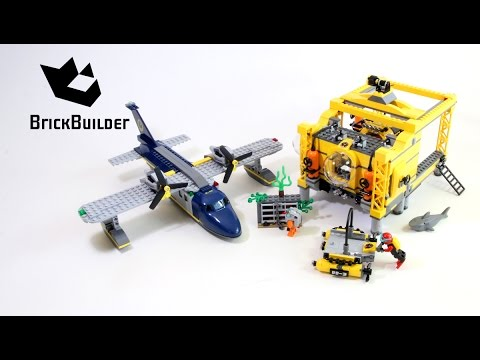 Lego City 60096 Deep Sea Operation Base - Lego Speed Build