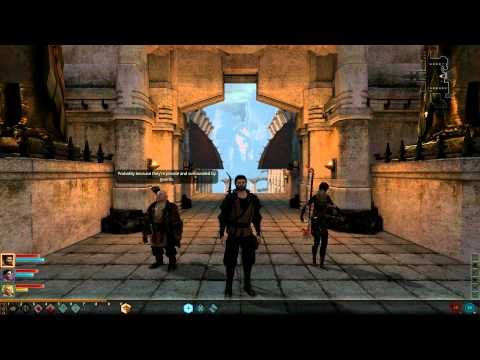 Dragon Age 2: Party Banter: Merrill & Varric [complete]