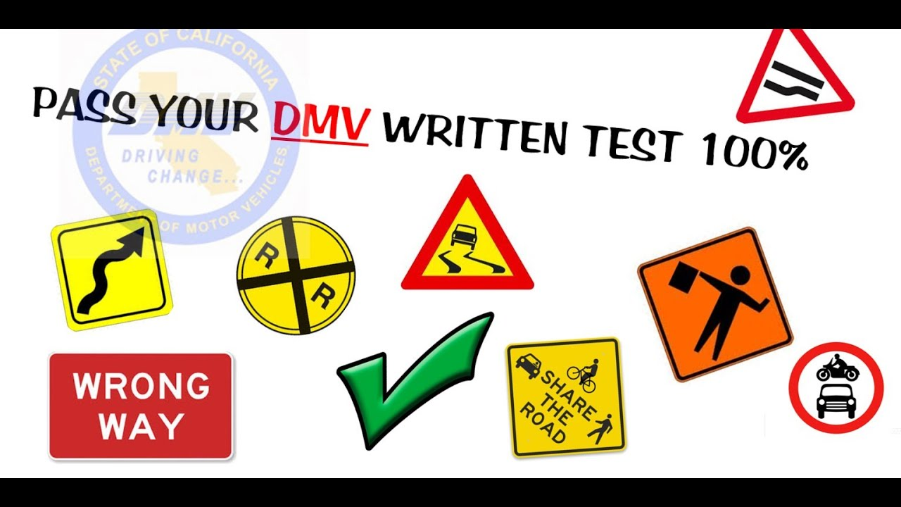 2019 DMV Test Questions Actual Test and Correct Answers Part I 100%