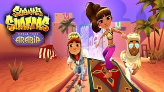 Subway Surfers: Arabia - Sony Xperia Z2 Gameplay