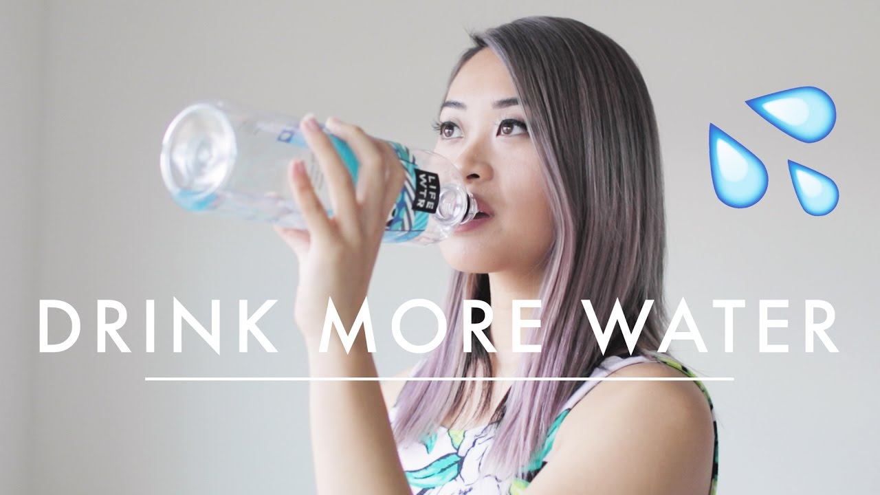 Drink Up, Ladies Drinking More Water Gave This Woman a SkinMakeover