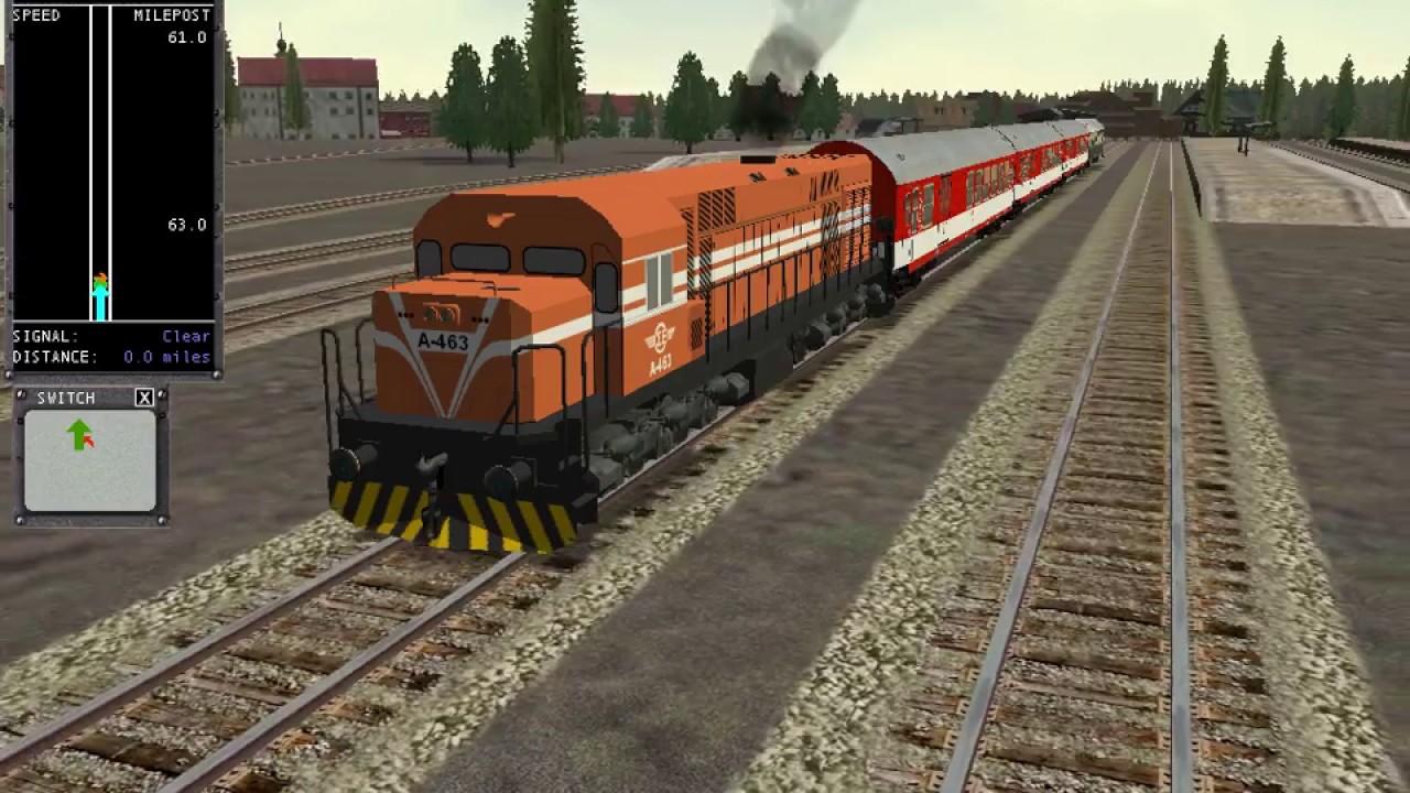 microsoft train simulator OSE MLW A463 - YouTube