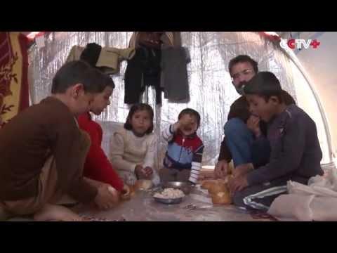 Kurdish Refugees Stranded in Kobani Struggle for Better Life