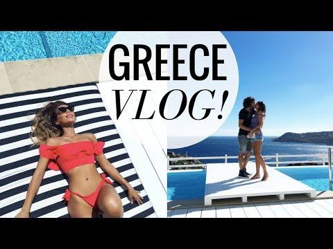 MYKONOS GREECE VACATION! | WEEKLY VLOG #3 | Annie Jaffrey