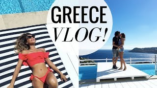 MYKONOS GREECE VACATION! | WEEKLY VLOG #3 | Annie Jaffrey