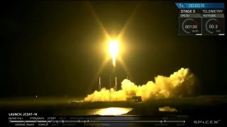 SpaceX JCSAT Launch & Falcon 9 Successful Landing | Go To Space