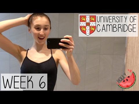 WEEK 6 AT CAMBRIDGE UNIVERSITY | HOW I STAY ORGANISED, GROCERY HAUL & DANCE AUDITIONS