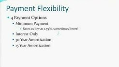 Finance Investment Property Using Pay Option ARM Loans
