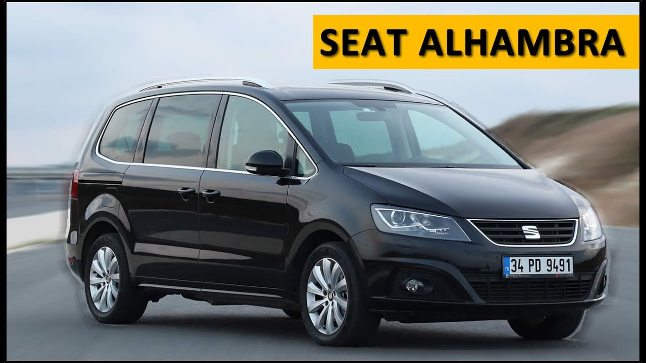 seat alhambra 2016 test drive review youtube