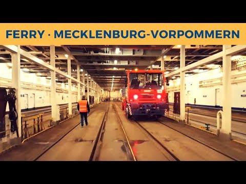 Ferry MECKLENBURG-VORPOMMERN in Trelleborg; Radio controlled engine Terberg Zagro; Train ferry