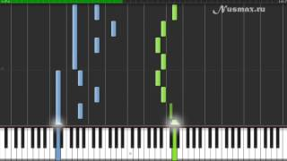 Pachelbell - Canon in D Piano Tutorial (Synthesia + Sheets + MIDI)