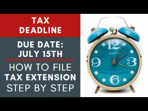 IRS How To File A Tax Extension Step By Step