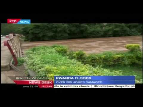 At least 53 people have been killed by landslides over the weekend in Rwanda