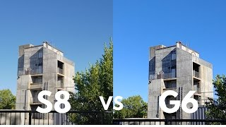 Samsung Galaxy S8 vs LG G6 Camera Comparison